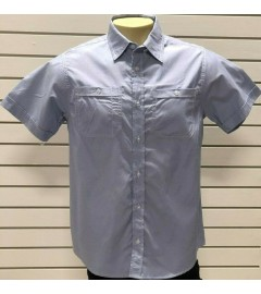 PJ MARK MEN'S CASUAL SHIRT (STY - W602) - BLUE - VARIOUS SIZES AVAILABLE