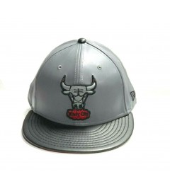 New Era Snapback: Chicago Bulls, Grey/Black