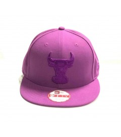 New Era Snapback: Chicago Bulls, Purple