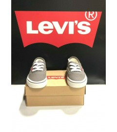 LEVI'S: JORDY BUCK KID'S SHOES (546419 - G70) - CHARCOAL/BROWN (VARIOUS SIZES AVAILABLE)
