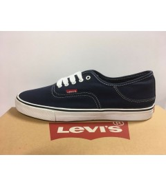 LEVI'S: JORDY 3 SHOES WITH STITCHES (516641-09U) - NAVY/WHITE - VARIOUS SIZES AVAILABLE