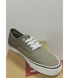 LEVI'S: JORDY 3 SHOES WITH STITCHES (516641-10G) - CHARCOAL/WHITE - VARIOUS SIZES AVAILABLE