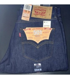 Levis Jeans Shrink to Fit - 501:0000 - Stone Blue