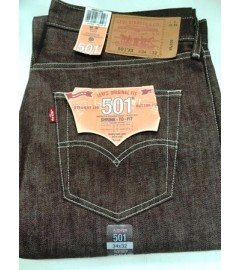 Levis Jeans Shrink to Fit - 501:1207 - Stone Burgundy