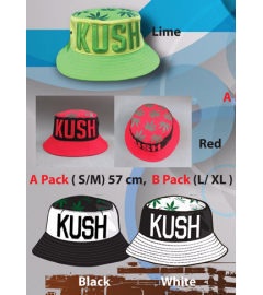 Bucket Hat: Kush, One Size Fits All